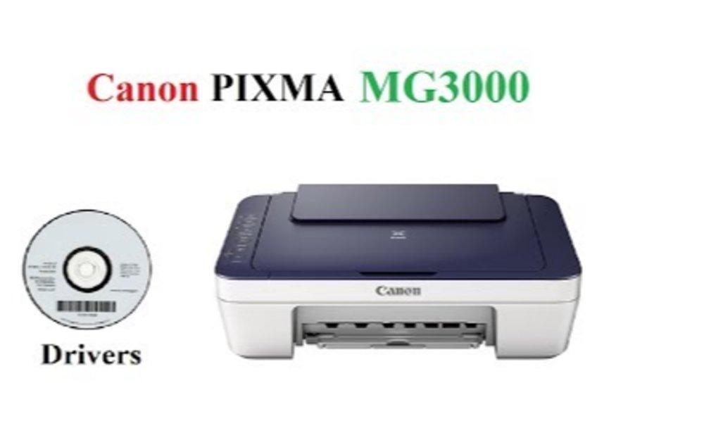 How To Setup Canon Pixma MG3000?
