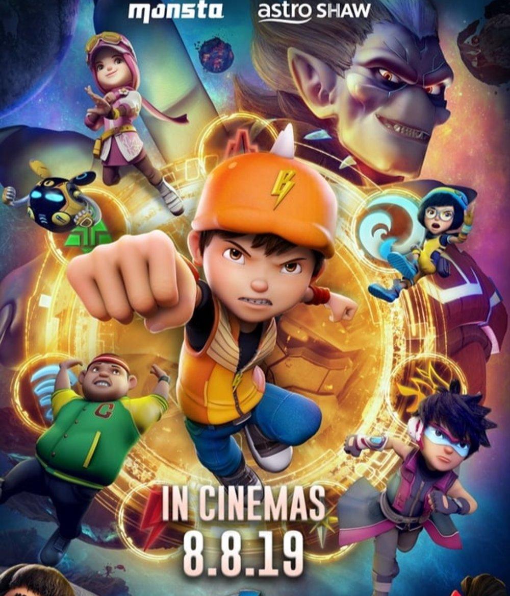 Film Boboiboy Movie 2 (2019) Quality Bluray Sub Indo