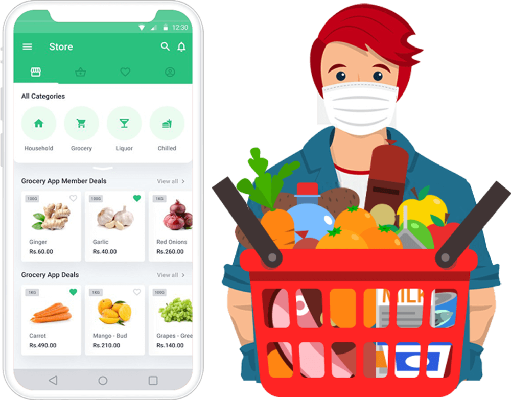 What is cost of app similar like grofers