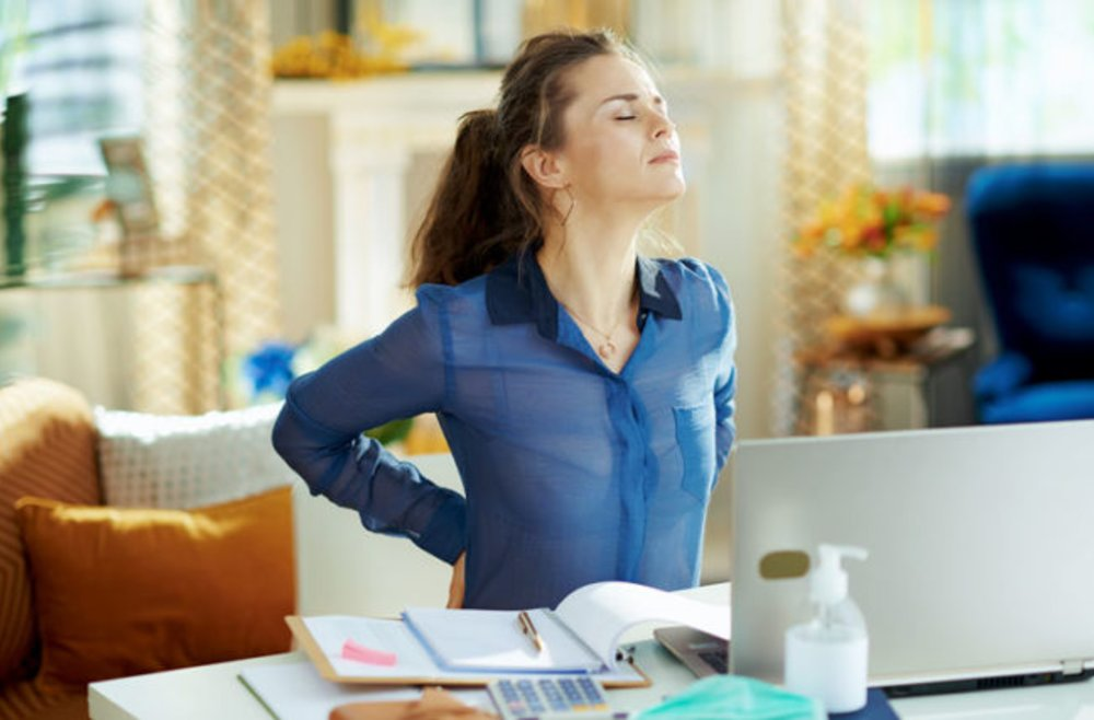 Don't Let Working from Home Cause Back Pain