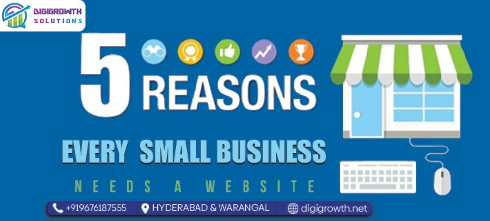 Five Reason Every Small Business Needs a WebsiteEnter content title here...