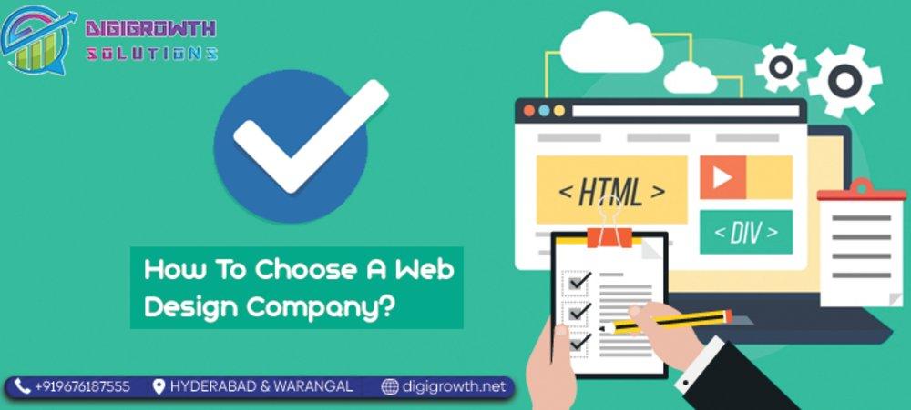 How To Choose A Web Design Company?