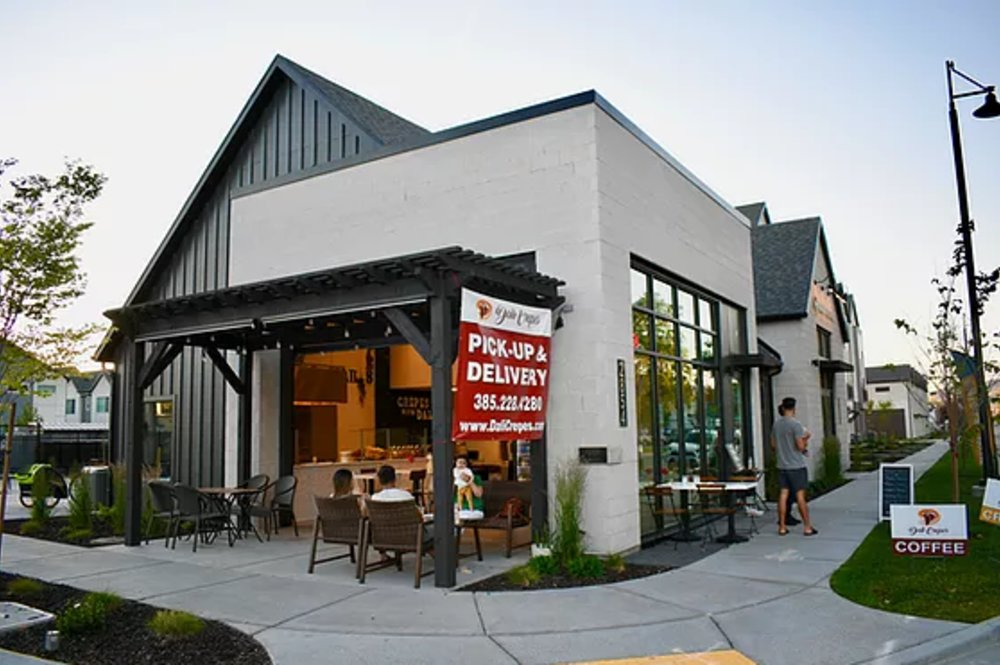 Crepes in Salt Lake City | Dali Crepes Restaurant, Cafe & Catering