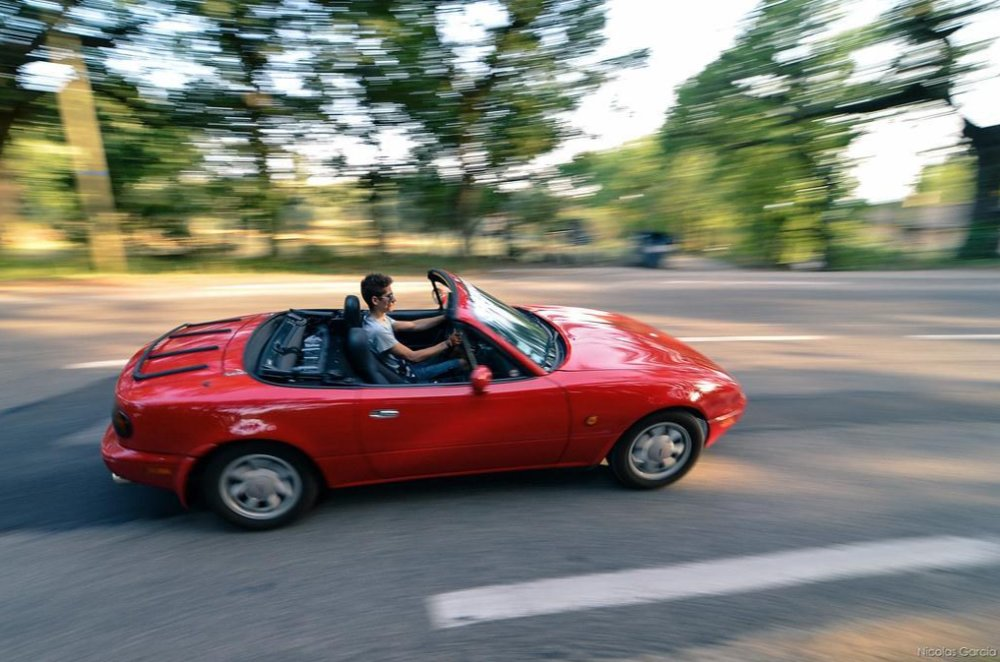 Roll Up with the Top Down This Fall in a Mazda Miata
