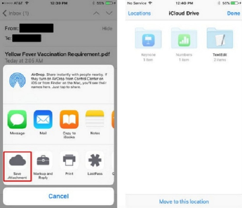How to Save Email Attachments to Cloud on iOS Devices?