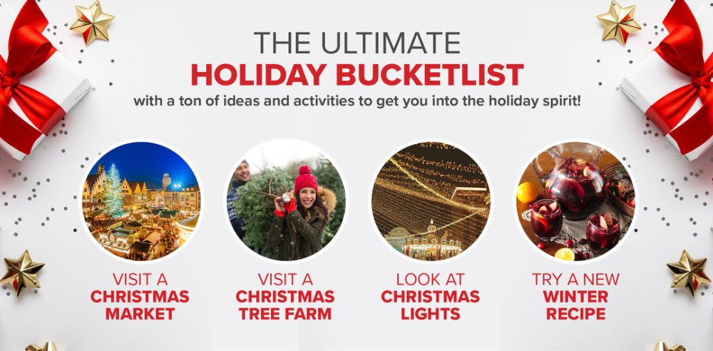 ULTIMATE HOLIDAY BUCKET LIST