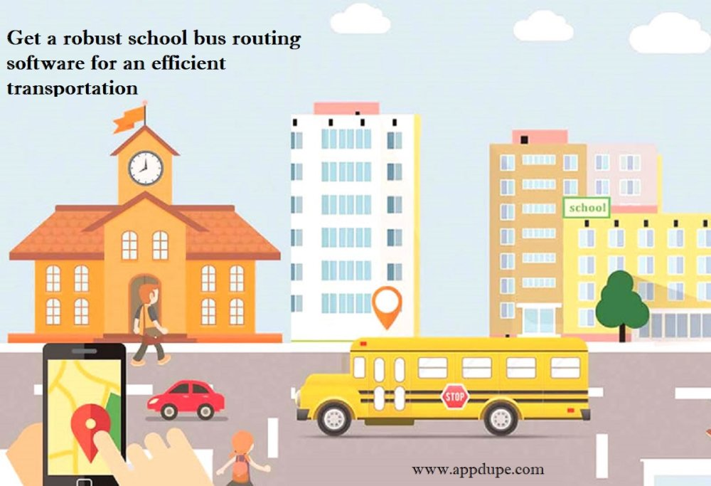 Get a robust school bus routing software for an efficient transportation