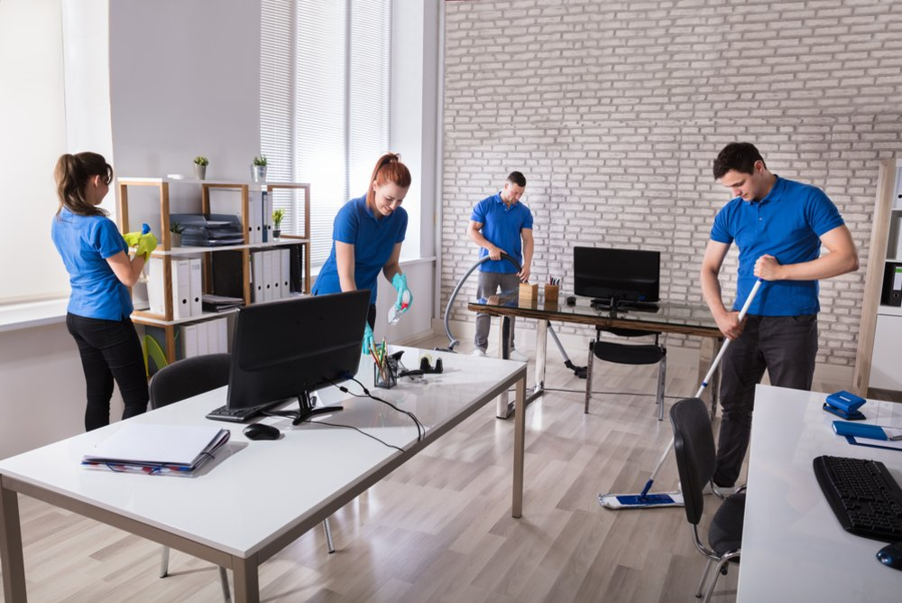 Benefits of a Clean Workplace