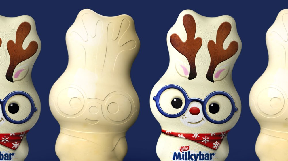 Milkybar Seasonal Packaging Design