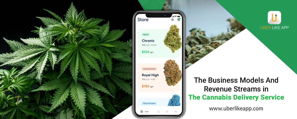 The business models and revenue streams in the cannabis delivery service