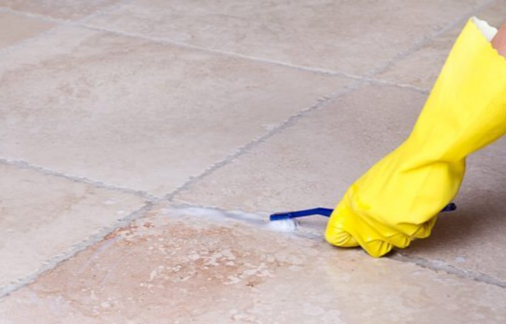 How to Clean Tile Grout Without Scrubbing