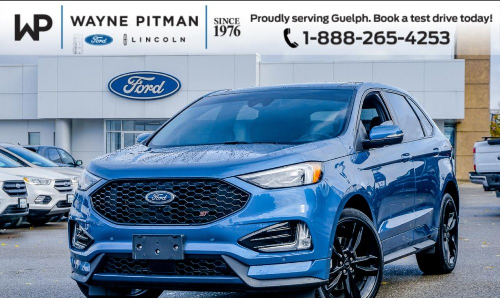 2019 Pre - Owned Ford Edge ST AWD - $39,995 - Wayne Pitman Ford Lincoln, Guelph