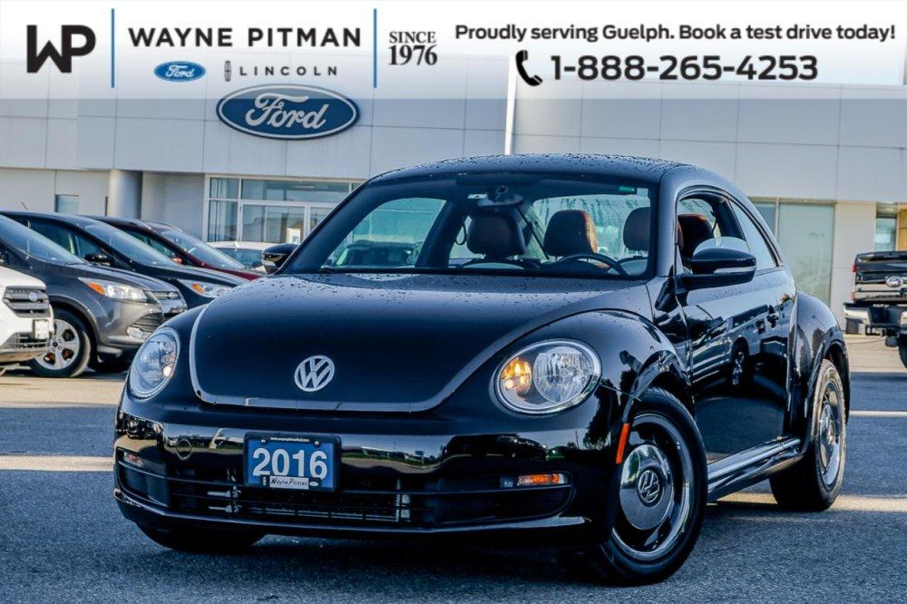 Pre Owned 2016 Volkswagen Beetle - Comfortline - $17,718 - Wayne Pitman Ford