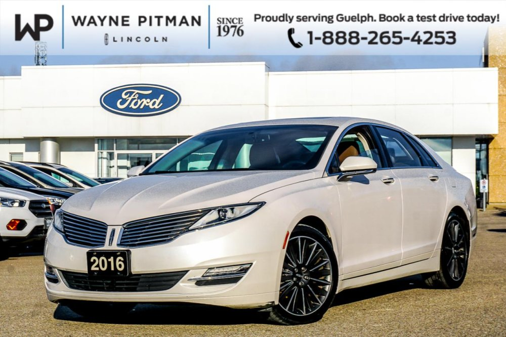 2016 Pre Owned Lincoln MKZ - $23,895 - Wayne Pitman Ford Lincoln, Guelph, ON