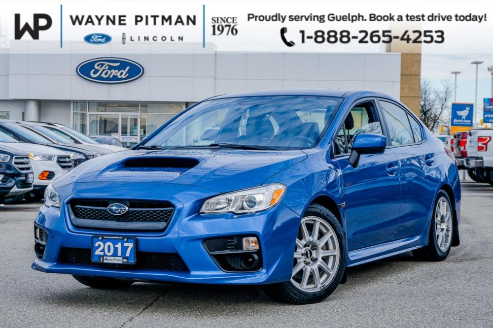 2017 Pre Owned Manual Subaru WRX - $23,995 - Wayne Pitman Ford Lincoln, Guelph