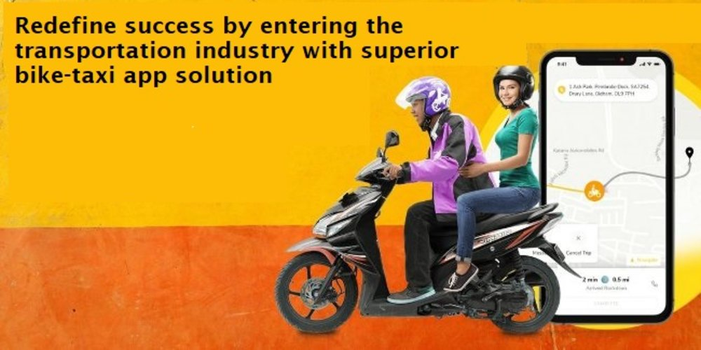 Redefine success by entering the transportation industry with a superior bike-ta