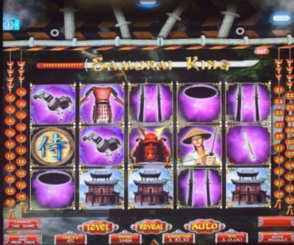 Samurai King - Sweepstakes Machine, Slot Game Shop - El Paso Texas