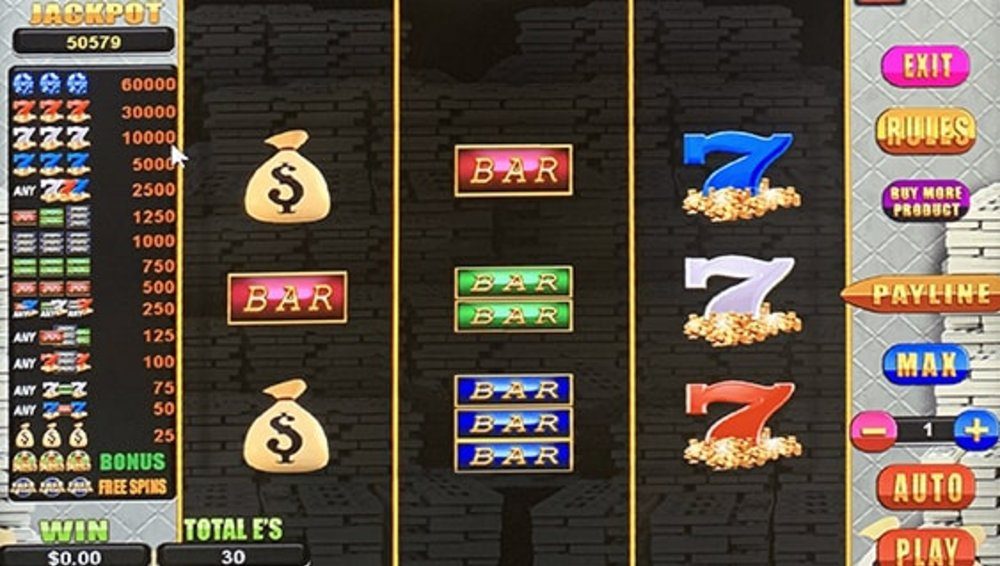 Mr. Money Bags 3x3 Reels - Sweepstakes Machine, Slot Game Shop - El Paso Texas