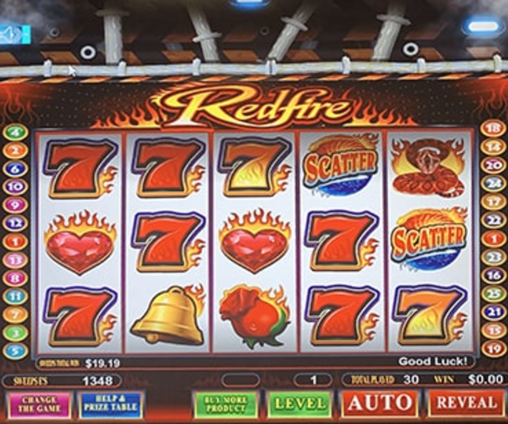 Redfire - Sweepstakes Machine, Slot Game Shop - El Paso Texas