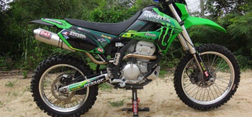 Kawasaki KLX |Review Kawasaki KLX 250 Indonesia