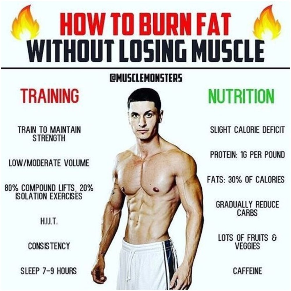 Ways To Shred Fat But Not Lose Muscle Mass