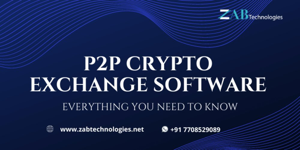 How to Develop a P2P Crypto Exchange Software?