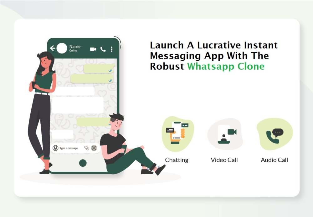 Launch A Lucrative Instant Messaging App With The Robust Whatsapp Clone