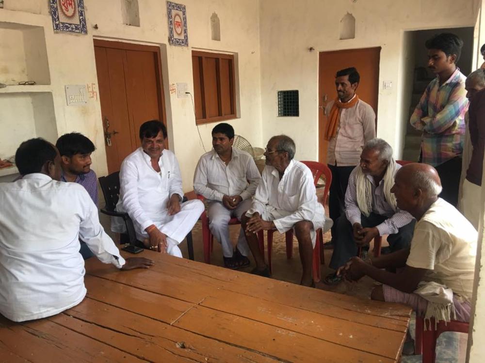 Vijay Bahadur Yadav - My aim is to fulfill the dream of villagers