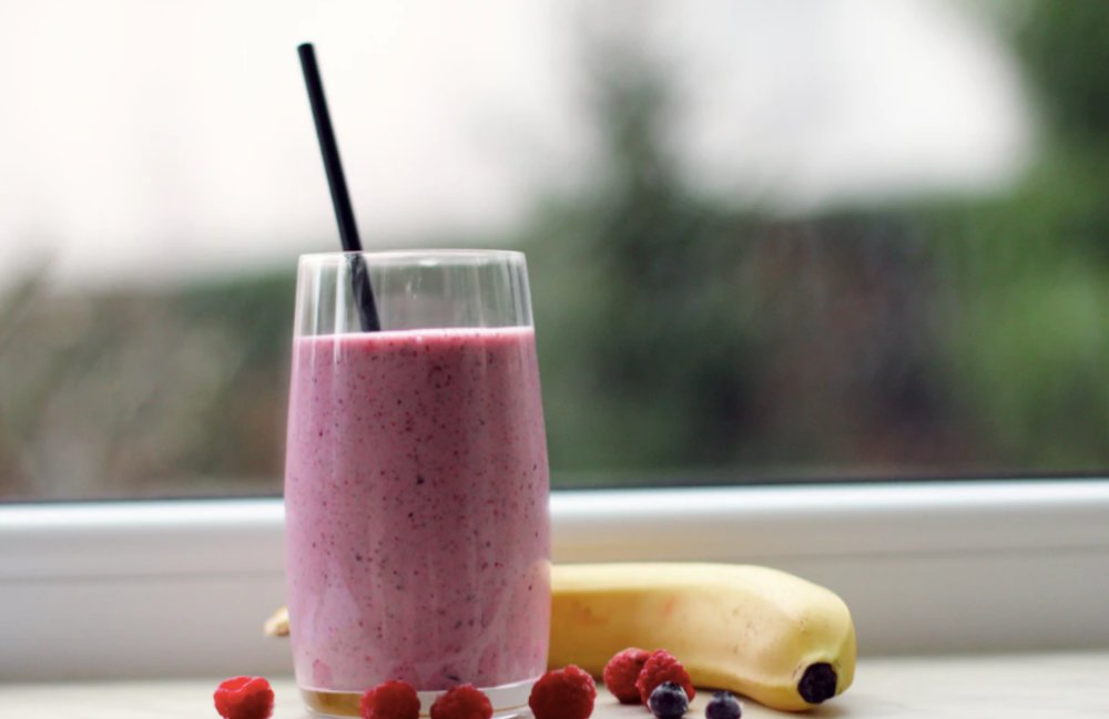 How To Make A Healthy Banana and Flax Seed Smoothie