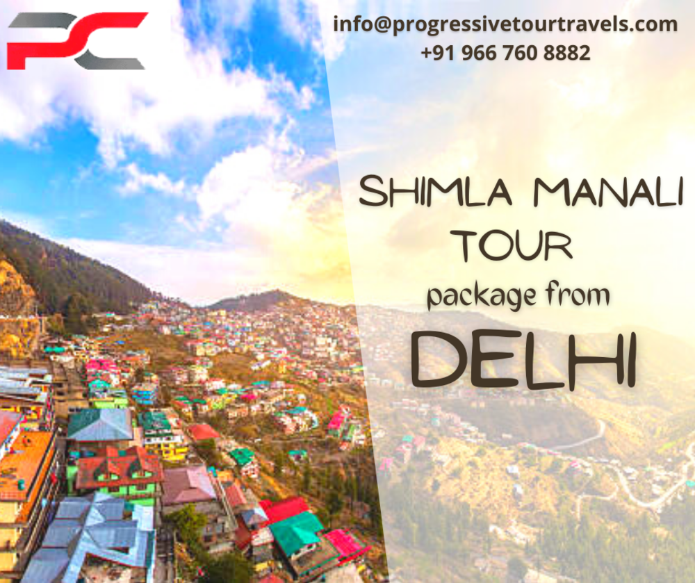 Book Amazing Shimla Manali tour package from Delhi