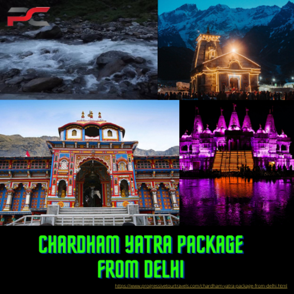 chardham Yatra Package From Delhi