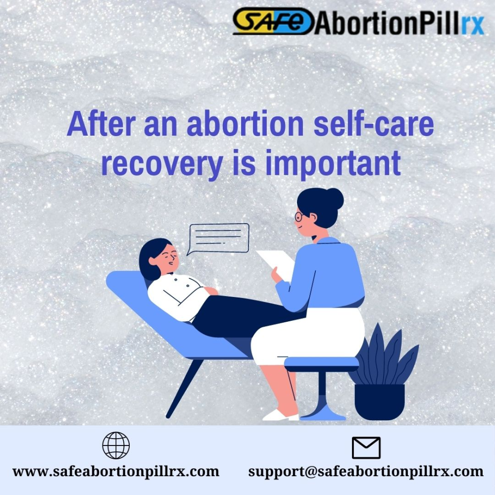 After an abortion self-care recovery is important