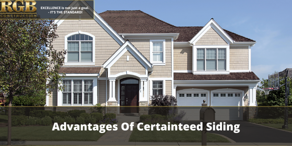 Advantages of Certainteed Siding