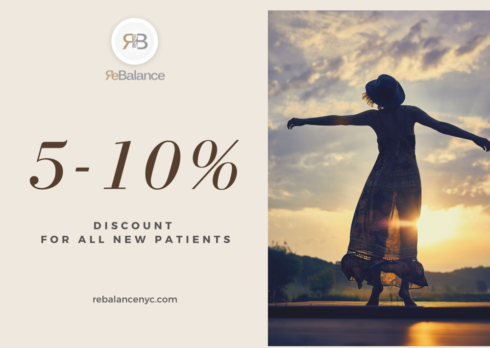 Discount for NEW Patients from ReBalance NYC