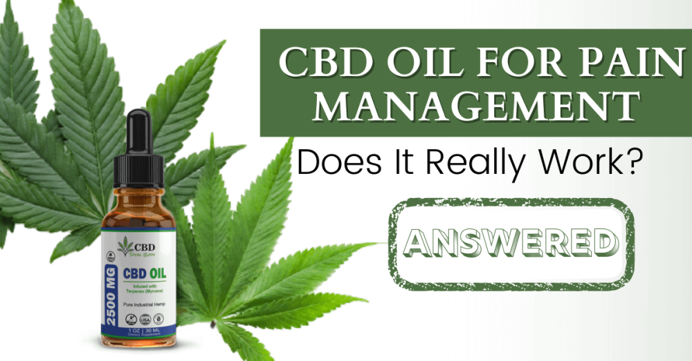 CBD Oil for Pain Management: Does It Really Work?