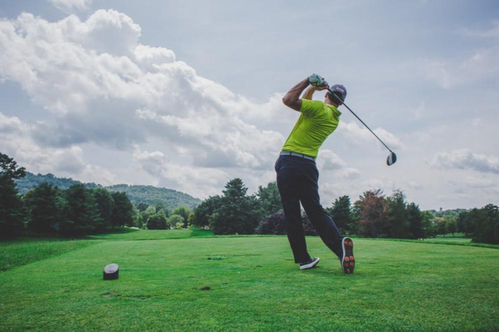 Warm-up golf exercises