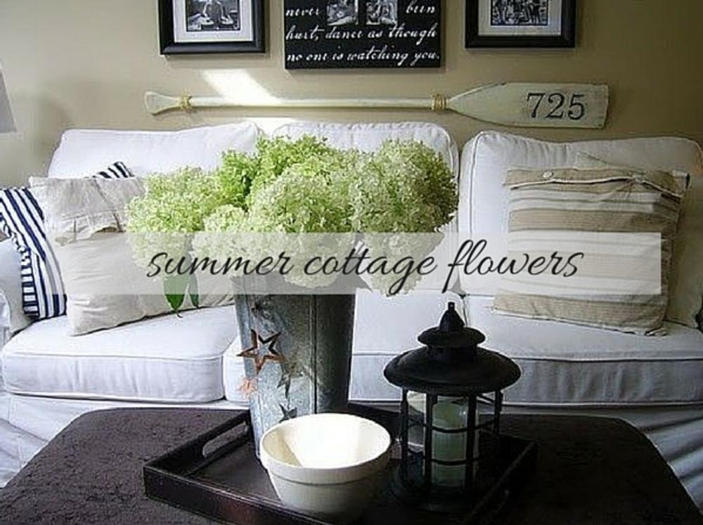 Interior Cottage Flower Inspiration
