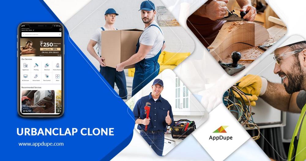 Offer world-class home services via Urbanclap clone app development