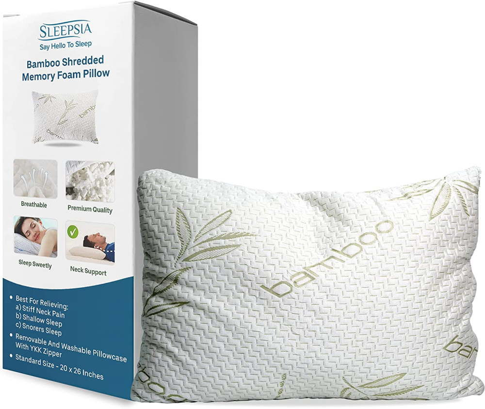 Buy Bamboo Pillow for side sleepers