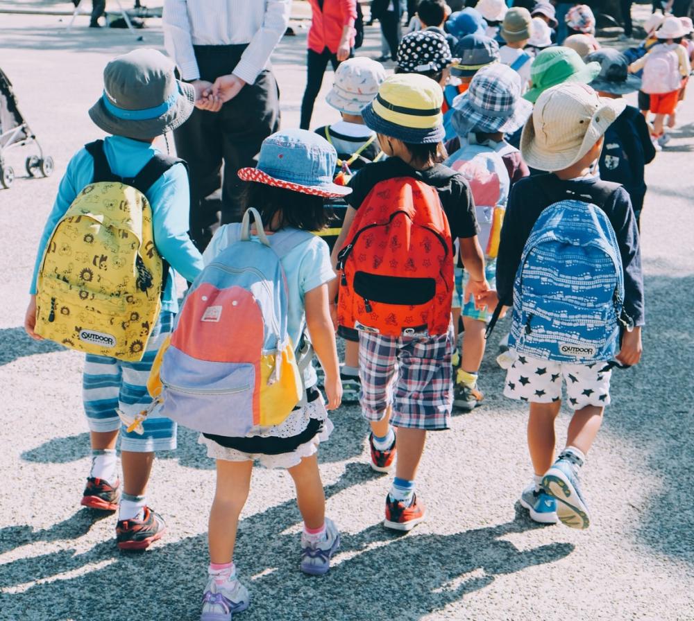 Back IN school means backpacks