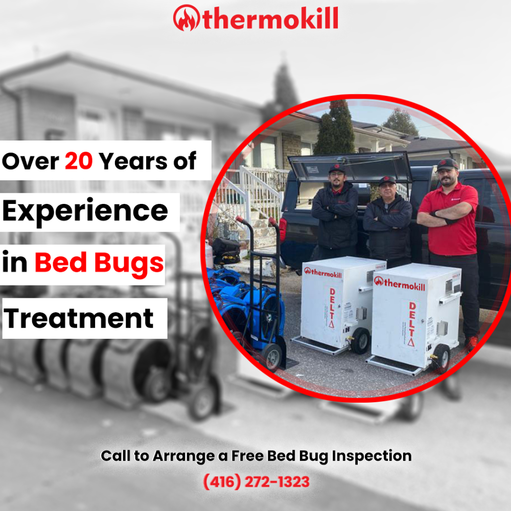 Why should you choose Thermokill as your trusted bed bug company?