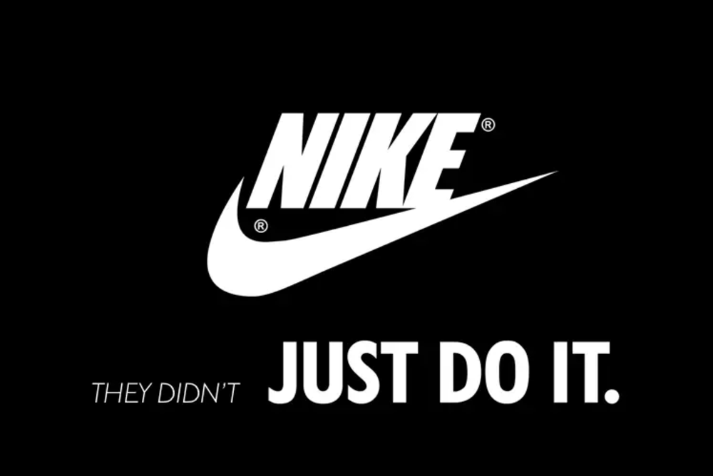 The Nike Logo Oh My! They Didn't Just Do It