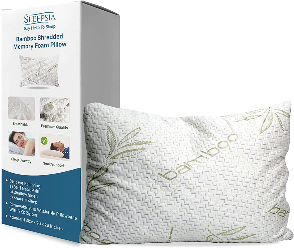 Some of the key benefits of bamboo pillows:
