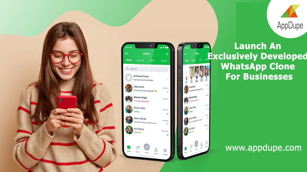 Launch An Exclusively Developed WhatsApp Clone For Businesses