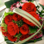 Seven Heavenly Ideas for the Perfect Red Wedding Bouquet