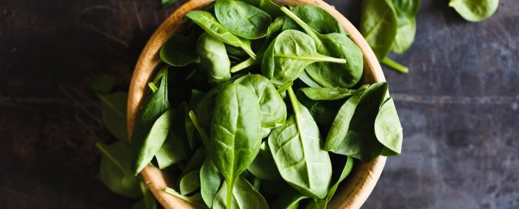 Spinach: The Iron Rich Leaf