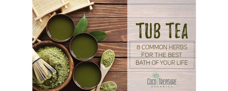 Tub Tea: 8 Common Herbs for the Best Bath of Your Life