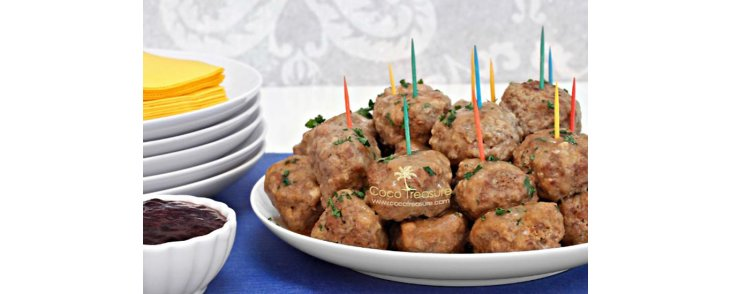 Slow-Cook Swedish Meatballs