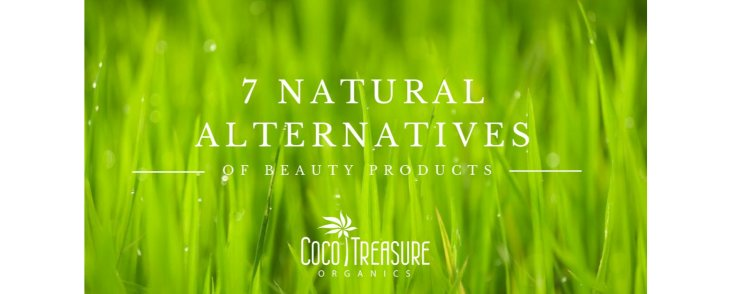 7 Natural Alternatives of Beauty Products