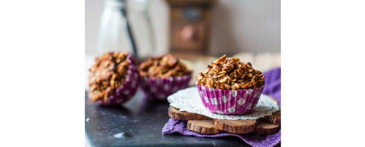 Carrot Cake Granola with Coconut Nectar
